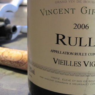 Vincent Girardin Rully Vielles Vignes 2006