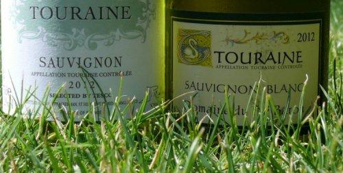 Two Touraine sauvignon blancs