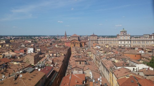 Modena from the tower
